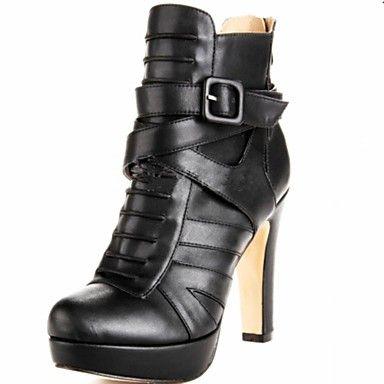 Botas De Los Zapatos La Moda Las Botines Tacón Grueso Usd Shoes Heels Bootsankle
