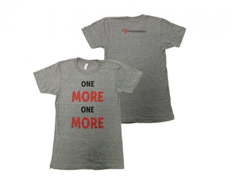 One More Shirt Camp Gladiator Store Shirts Mens Tops T Shirt
