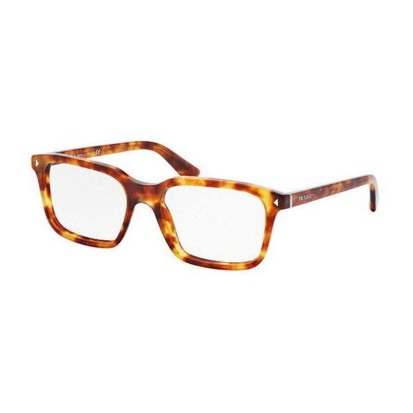13e3ba0b29 Prada PR04RV JOURNAL 4BW1O1 Eyeglasses ( 165) ❤ liked on Polyvore featuring  accessories
