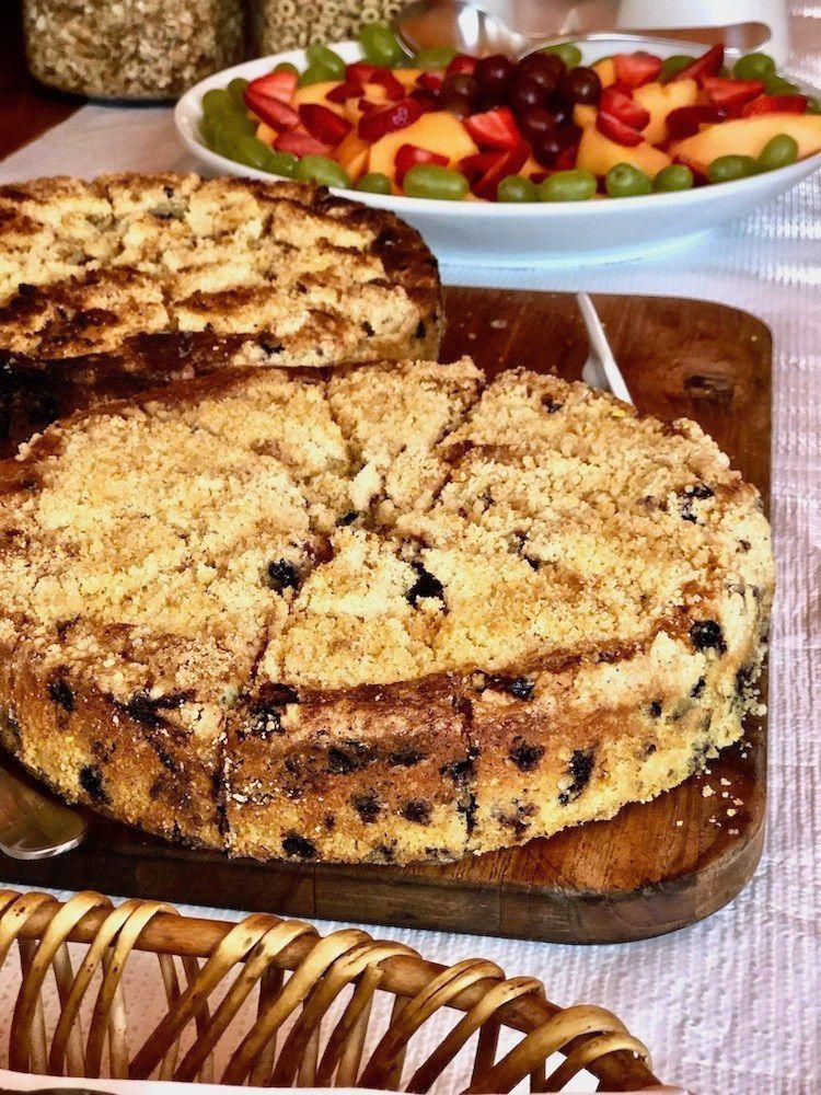 Blueberry lemon coffee cake recipe in 2020 blueberry