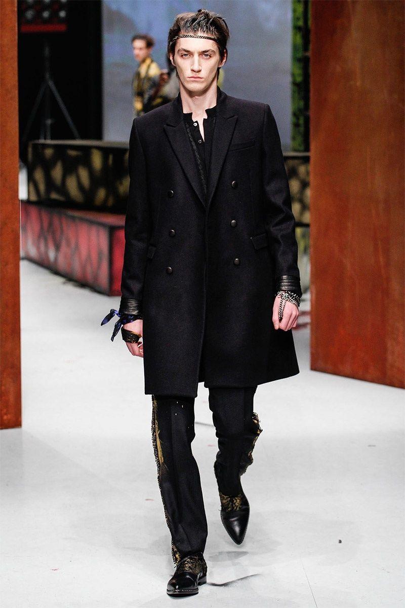 Roberto Cavalli Men Fall/Winter 2014   Milan Fashion Week