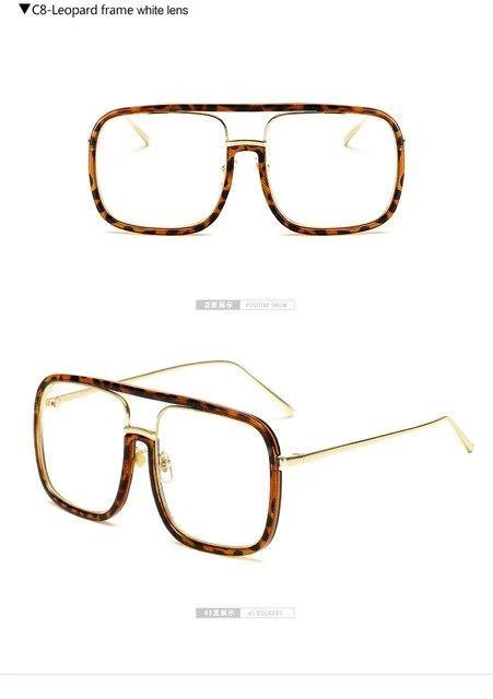 Longkeeper 2018 Transparent Square Glasses Frame Women Black Lens Clea Onine Shop Square Glasses Frames Square Glasses Eyewear Glasses Frames