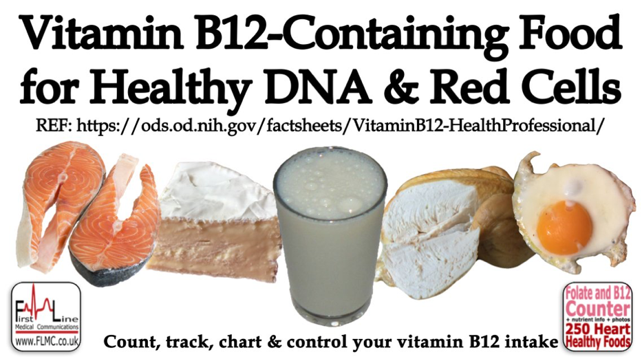 Pin by Dr Lindy van den Berghe on Vitamin B12 foods and