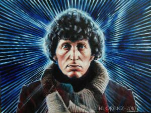 Tom Baker as the 4th Doctor Who (1974-1981)