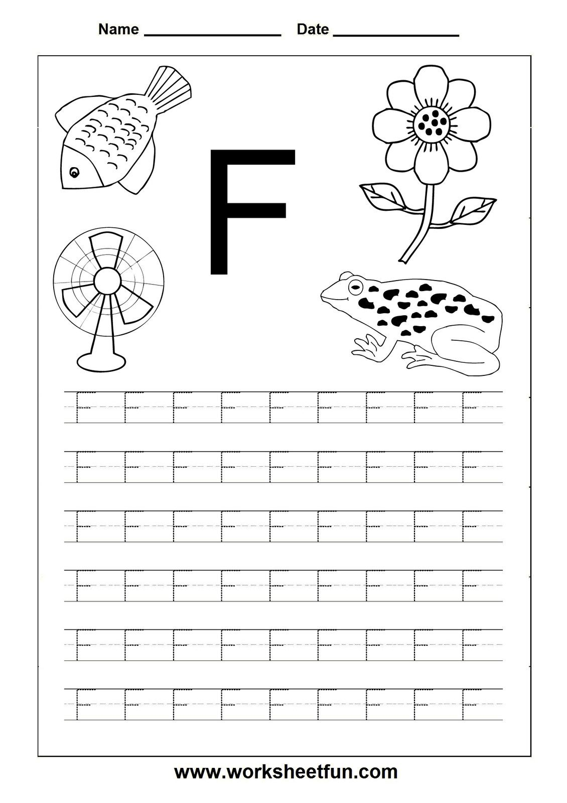 5 Worksheet Name Writing Practice Preschool Handwriting