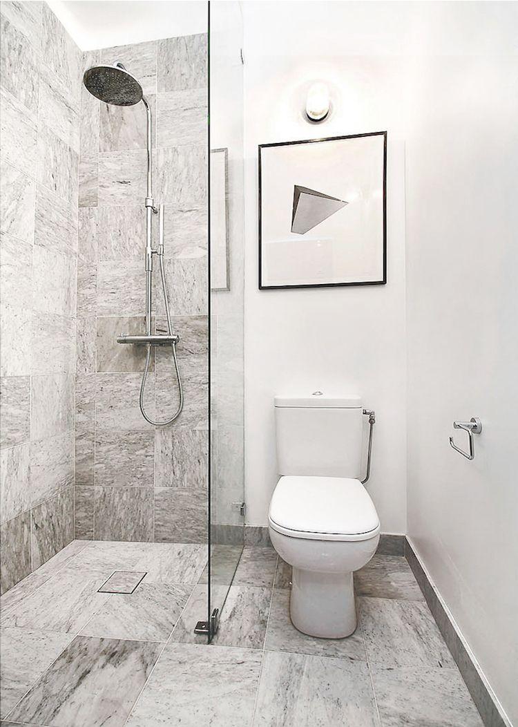 Badezimmer ideen klein grau faïence salle de bain u faire le meilleur choix qualitéesthétisme