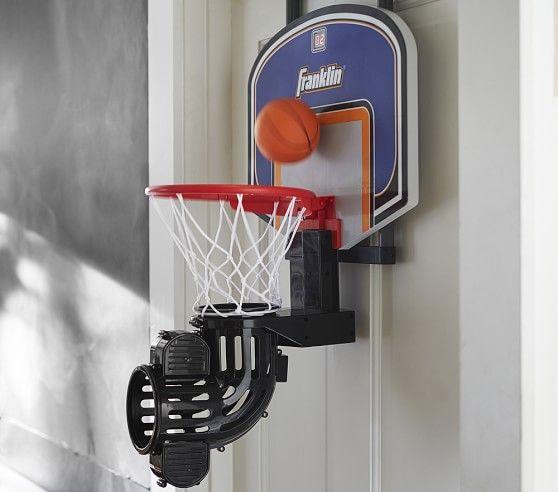 Electric Basketball Hoop  Pottery Barn Kids  Kids Room Awesome Basketball Hoop For Bedroom Design Decoration