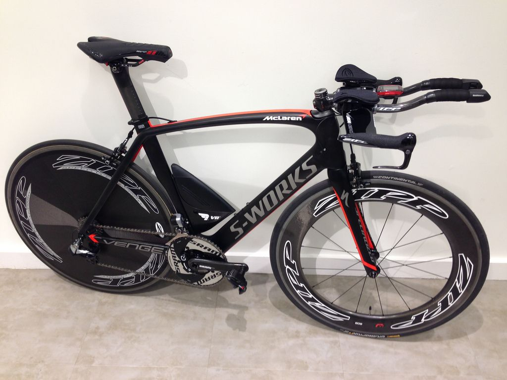 Specialized Mclaren Venge Setup As A Time Trial Bike By The Radsport Tri Tt Bicycle Trial Bike Bike Swag Cycling Race