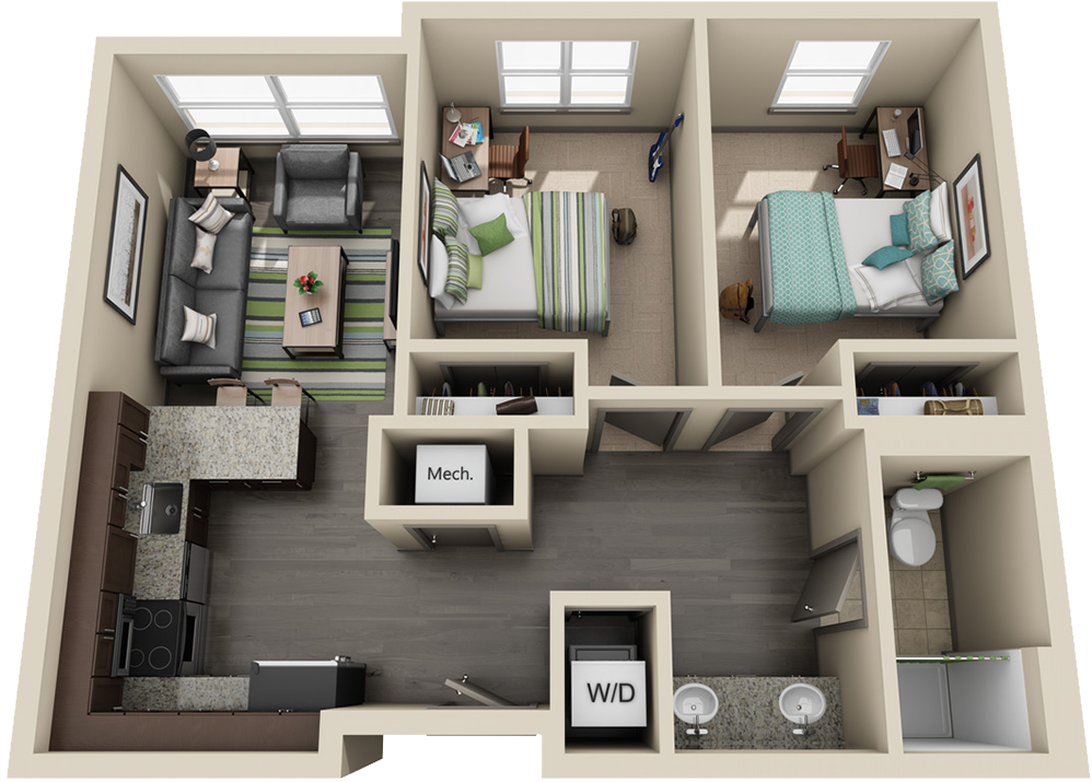 University Flats Uk Housing In 2021 Apartment Blueprints 2 Bedroom Apartment Floor Plan Apartment Floor Plans