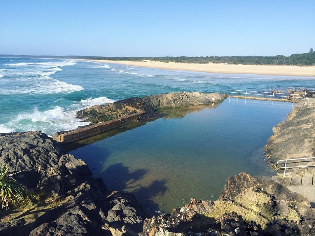 Sawtell Ocean Pool Bath Coffs Harbour Nsw Insta Sian Coffs Harbour New South Wales Places To Go