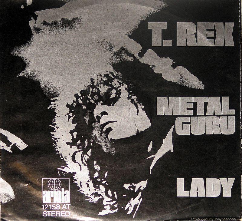 T Rex Metal Guru Lady Tyrannosaurus Rex Schallplatten