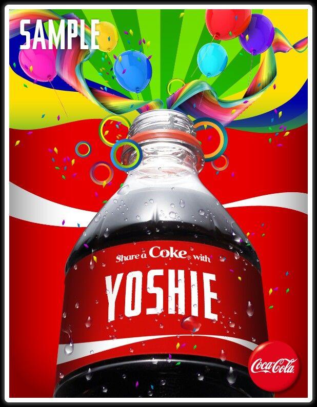 My Coke.