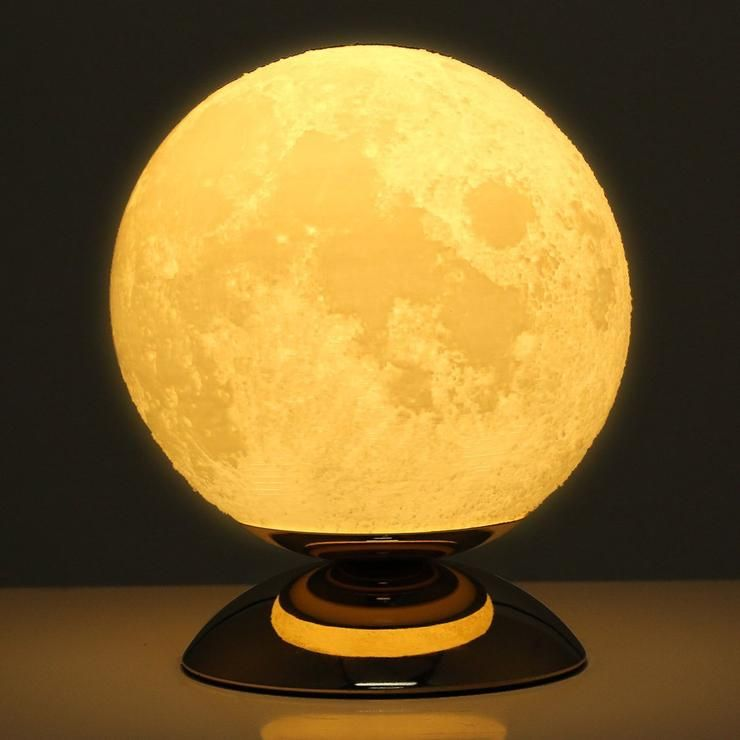 Resin Lunar 3d Moon Lamp In 2020 Lamp Nursery Night Light Bedroom Night Light