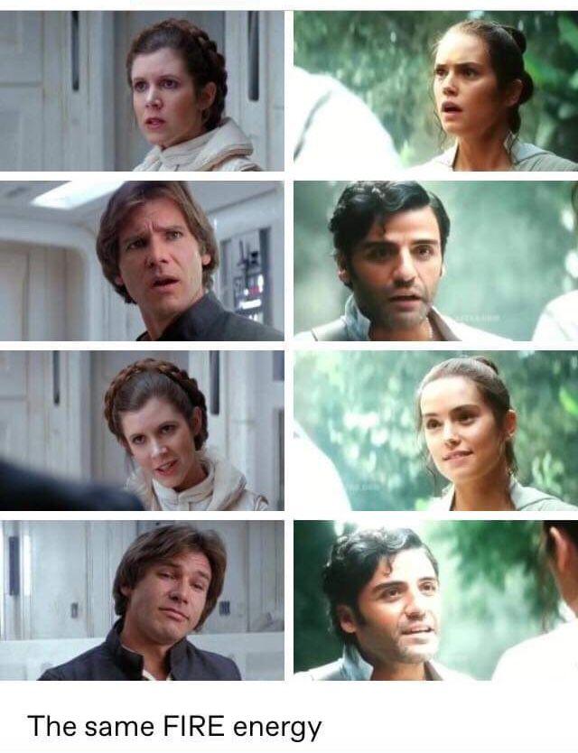 Same Fire Energy Star Wars Nerd Star Wars Memes Star Wars Fandom