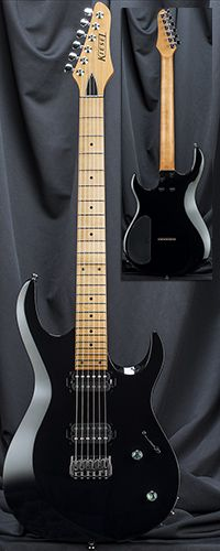 Custom Shop A6H Aries 24 Fret Bolt-On Neck Guitar Serial Number 130301 | KieselGuitars.com