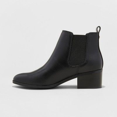 3273f011f3ccc Booties for women | Shoes | Boots, Chelsea boots, Black chelsea boots
