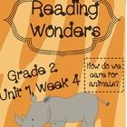 $5  Reading Wonders  Resources  Grade 2  Unit 1, Week 4    This resource packet Includes various   resources for small reading groups and literacy centers:   ...