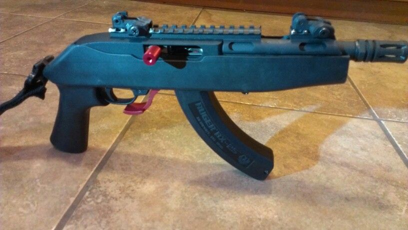 Ruger Charger Custom Build With Chopped Dragonov Stock 6 Inch