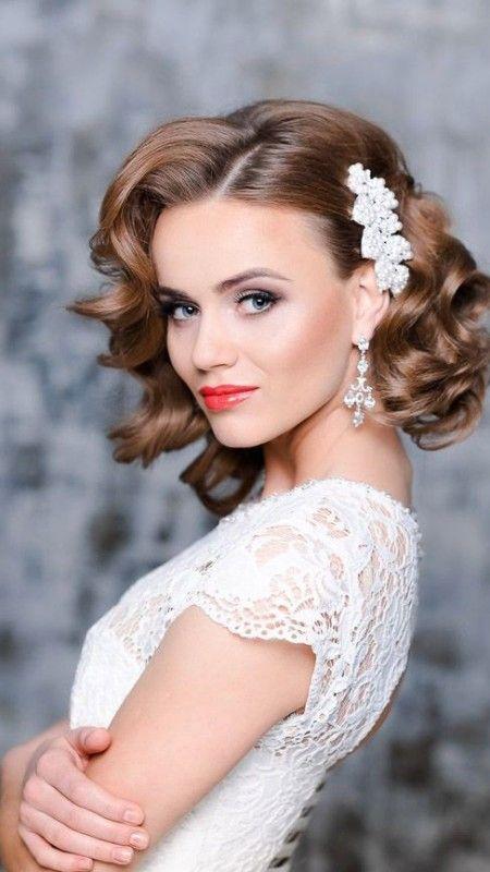 Wedding Hairstyles 2016 Google Zoeken Curly Bridal Hair Short Wedding Hair Loose Curls Wedding