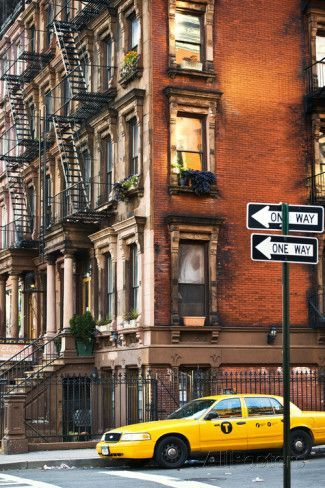 'Urban Landscape - Harlem - Manhattan - New York City - United States' Photographic Print - Philippe Hugonnard | AllPosters.com