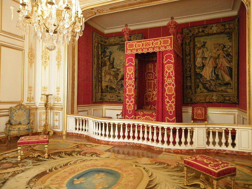 Ch teau de chambord chambre du roi louis xiv france for Chambre louis xiv