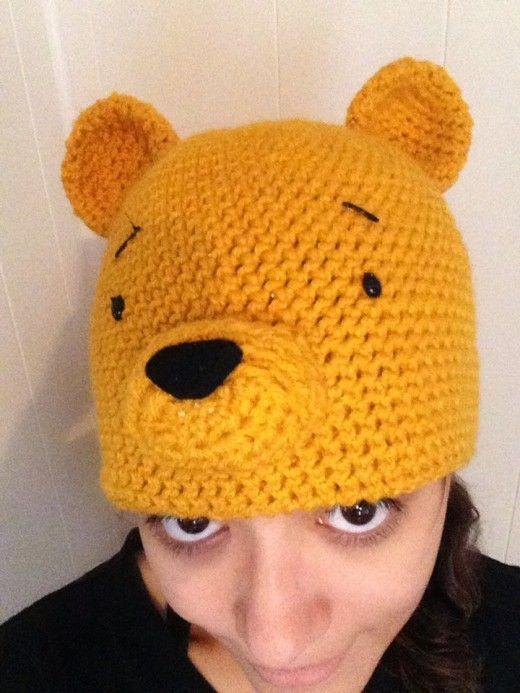 d34b3fdb35d3 Crochet Hat Patterns  Winnie the Pooh