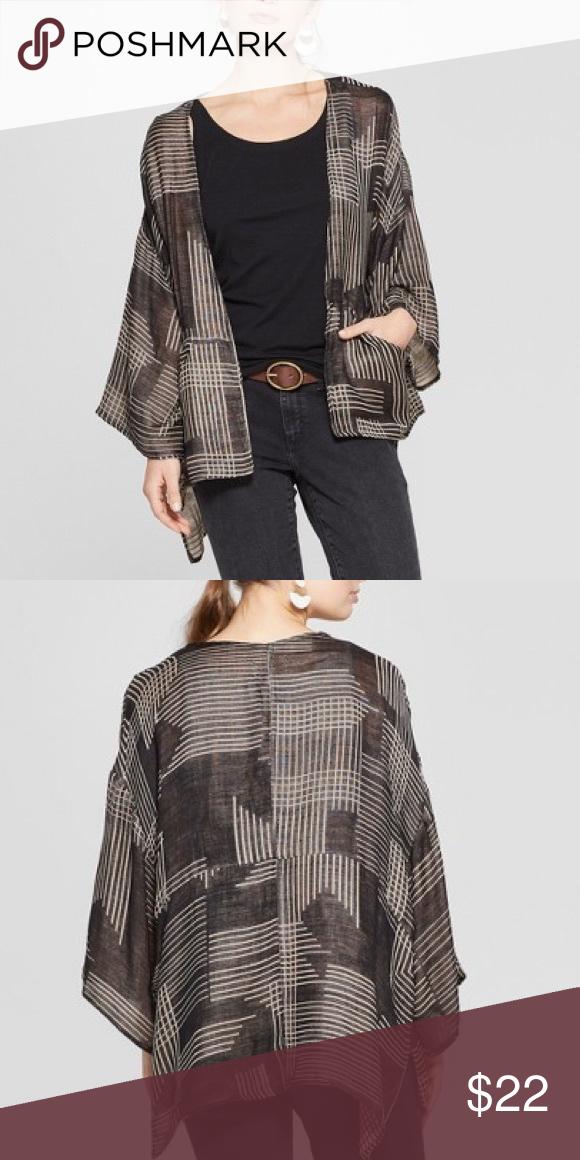 053d39477abd8 Nwt universal thread geo kimono OS women s Target geo kimono universal  thread NWT One size Currently sold at target for  29.99 Universal Thread  Sweaters
