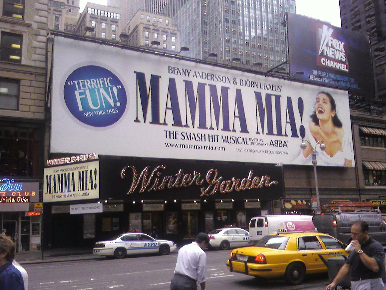 the winter garden theatre in manhattan ny is protected by