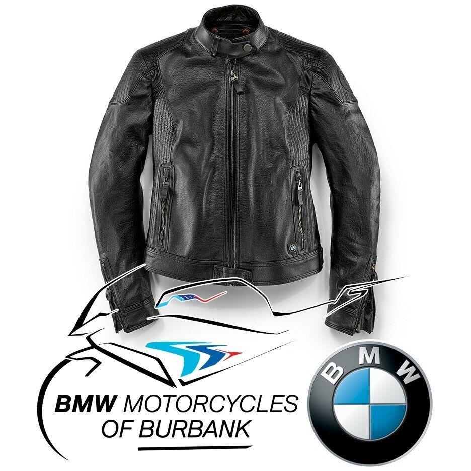 Ebay Sponsored Black Leather Jacket Womens Genuine Bmw Motorrad