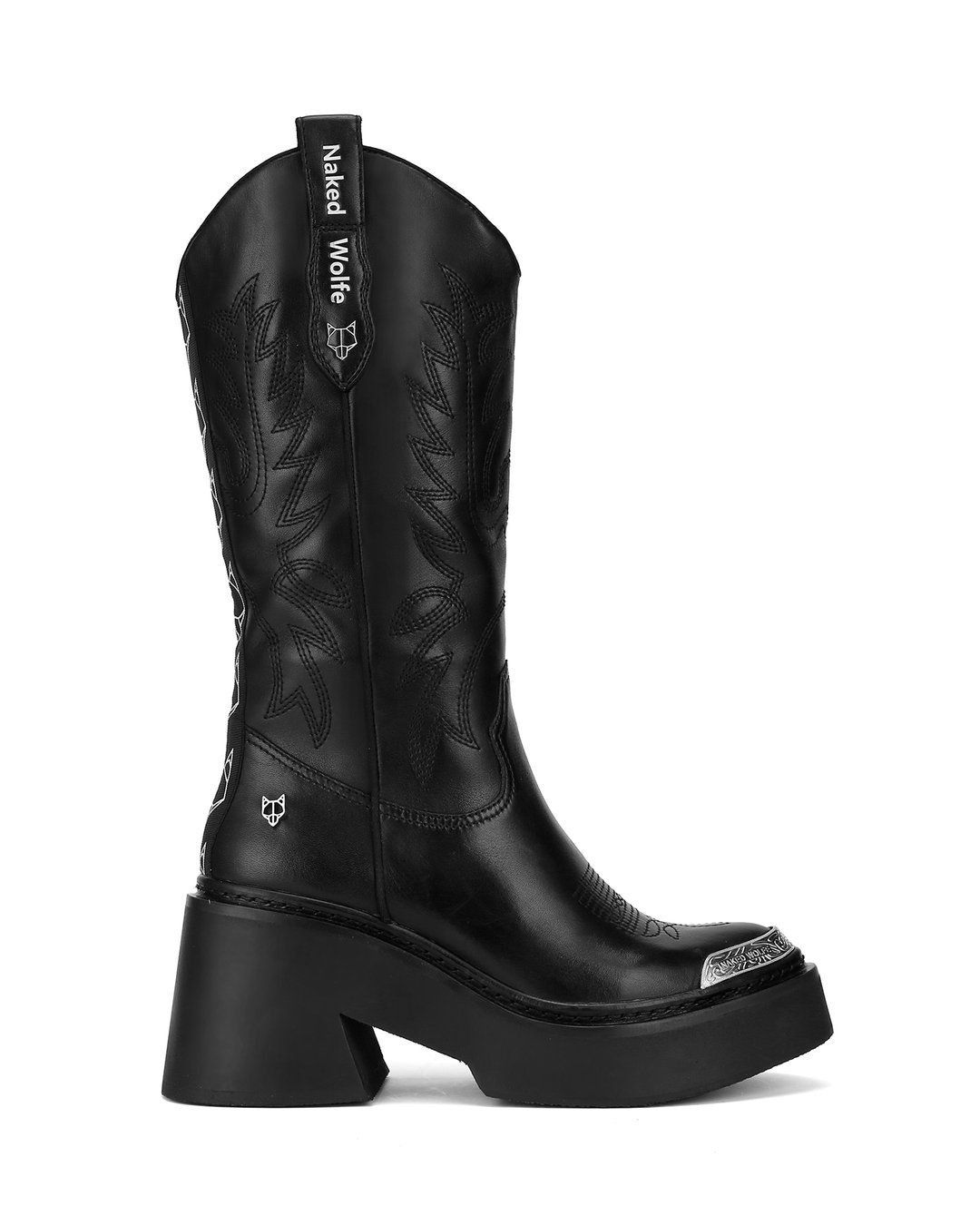 615fda437fb Rodeo Black Leather in 2019 | Looks | Boots, Cowboy boots, Black leather
