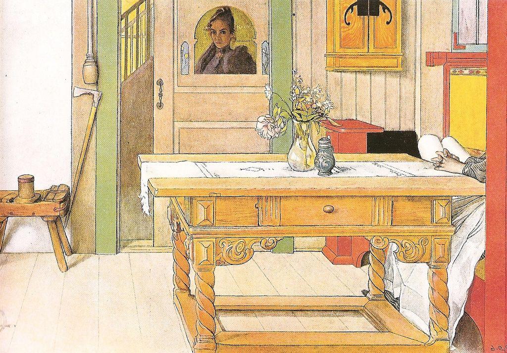 Carl Larson Pinturas Carl Larsson Acuarela