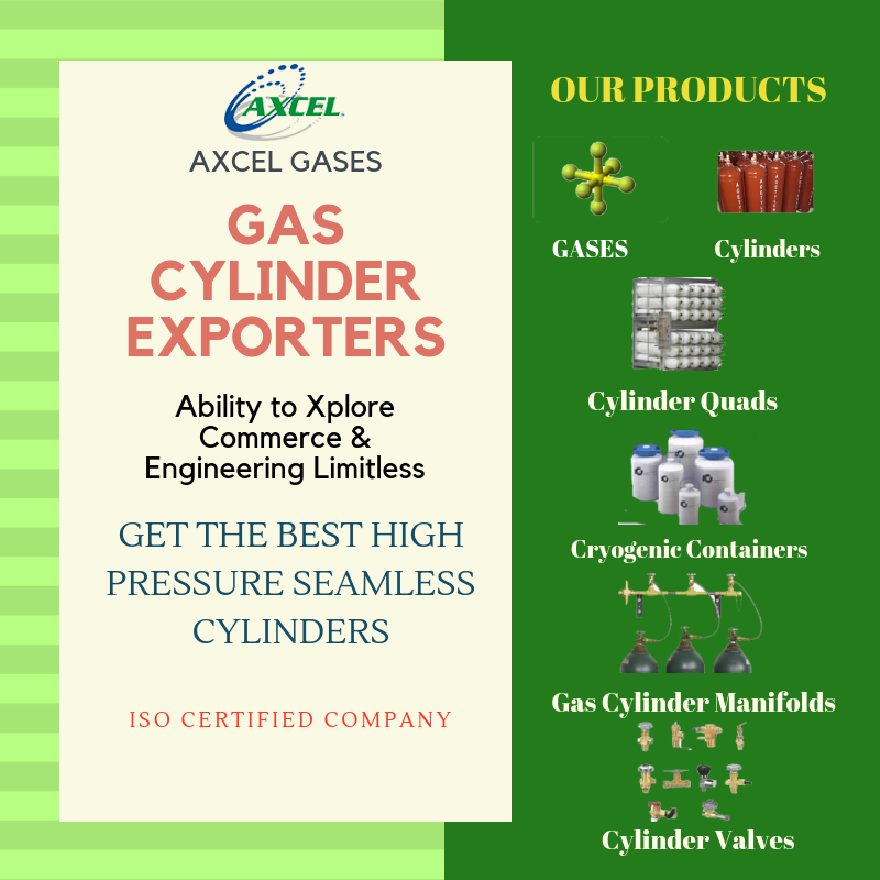 AXCEL GASES is a leading Acetylene Gas Cylinders