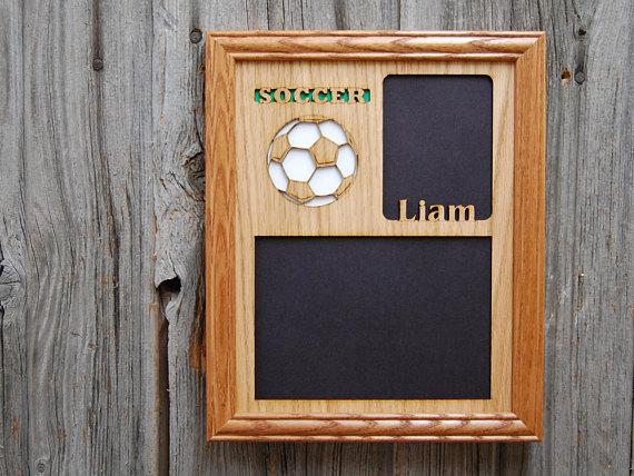 8x10 Soccer Picture Frame Soccer Decor Soccer Parent Gift Gift