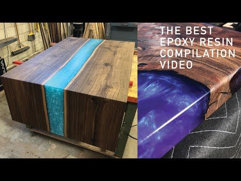 RESIN EPOXY | 5 AMAZING EPOXY RESIN TABLE & RESIN ART | DIY WOODWORKING PROJECT COMPILATION - YouTube