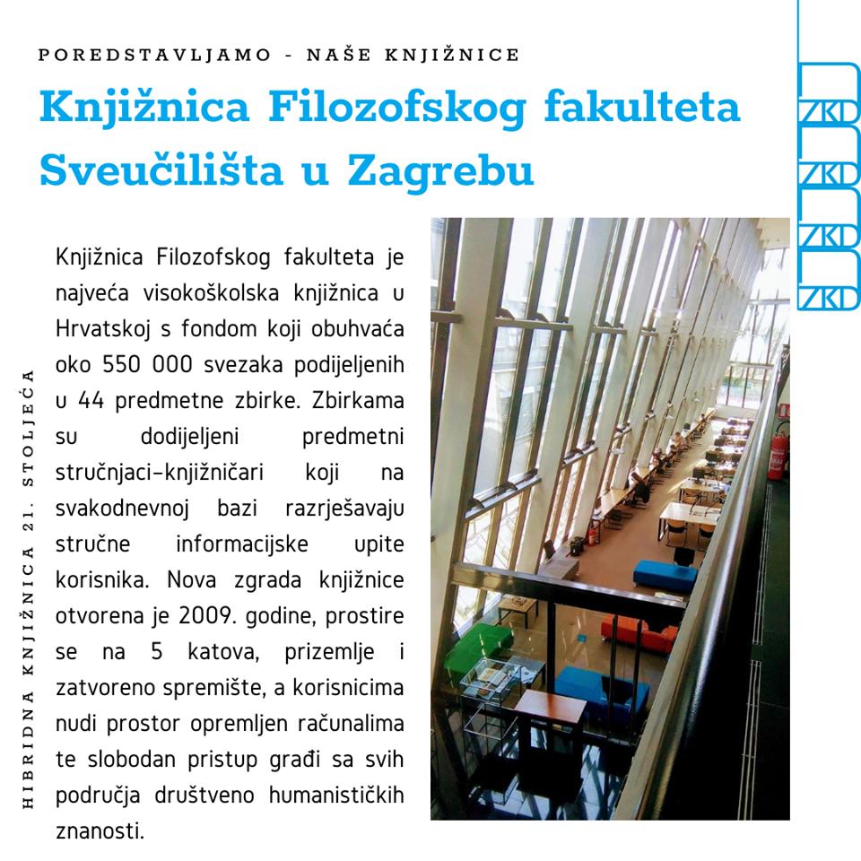 Knjiznica Filozofskog Fakulteta Sveucilista U Zagrebu Event Trip Info