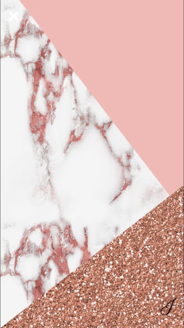 Pink White Marble Glitter Tumblr Wallpaper