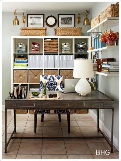 Home Office Decorating Ideas -Create a comfortable working space - Home Office Decor Ideas