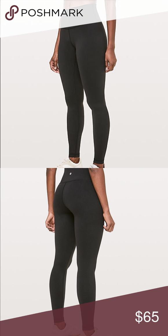 d7f75640e1459d Lululemon wunder yoga pant Size 6, 28 inch, gently worn lululemon athletica  Pants