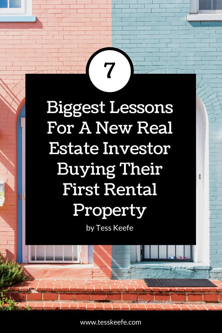 7 mistakes to avoid when buying your first rental property