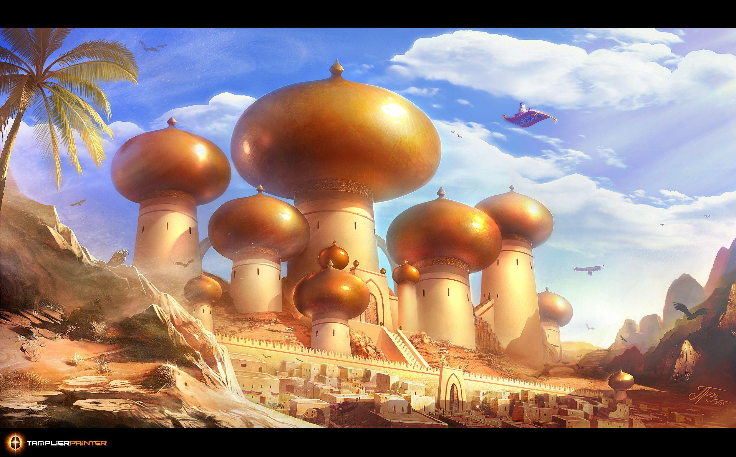 Aladdin Agrabah City