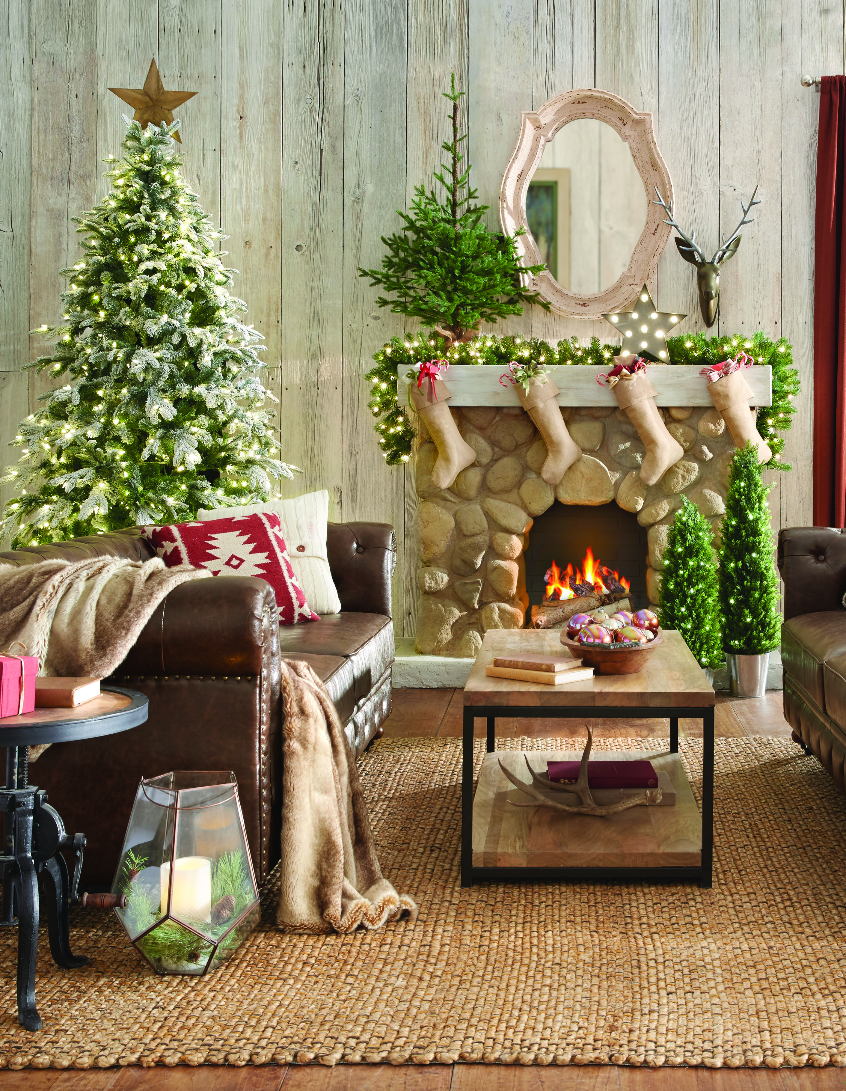 Create a warm cozy retreat for the holidays with martha for Martha stewart home decorators collection