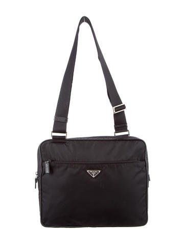 ccecefa8c21 Prada Tessuto Messenger Bag   Messenger bags and Products