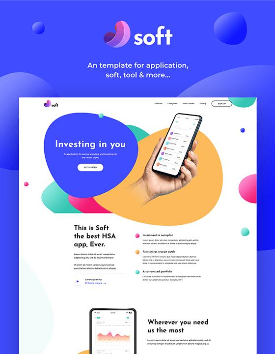 Soft - Technology Website Template