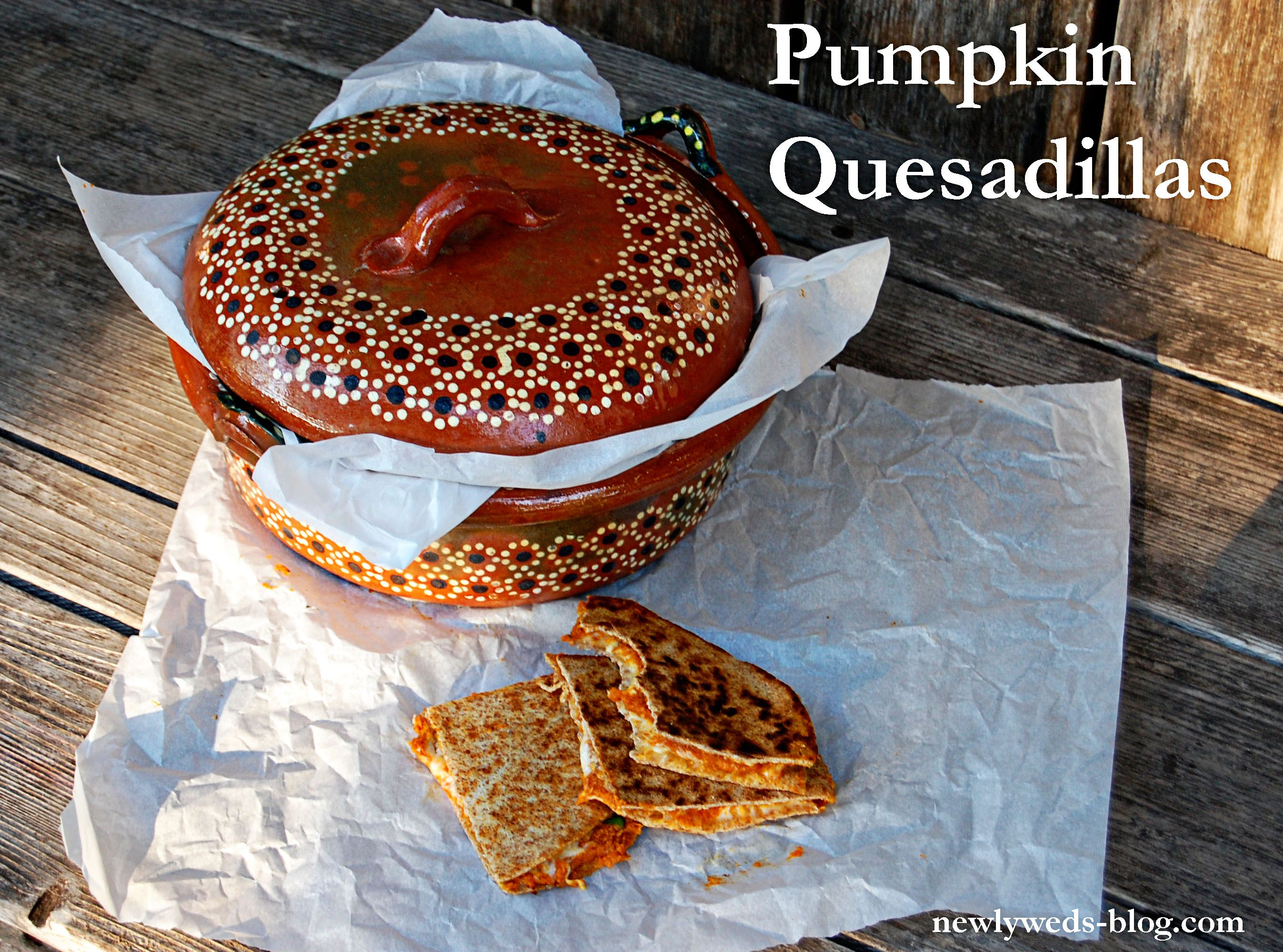 Pumpkin Quesadillas, yummy quick dinner that will have you going back for seconds.