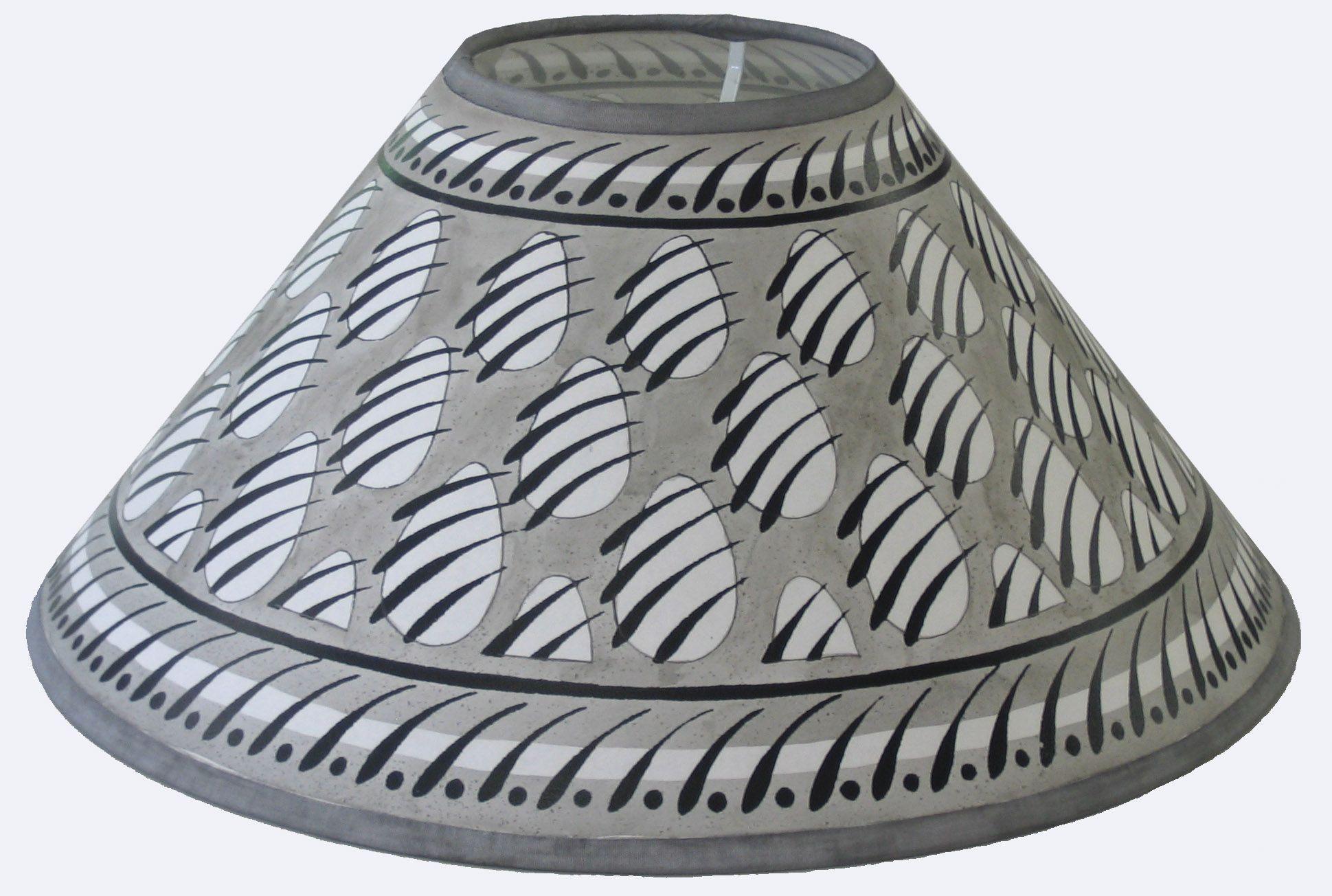 14 36cm Lampshades Grey Paw Print Lampshade Lampshades Lamp Shades Painting Lamp Shades