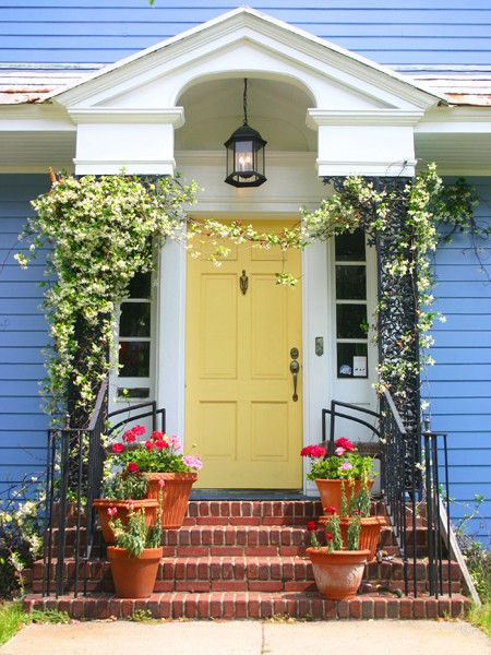 7 Front Door Colors What They Say About You The Home Depot