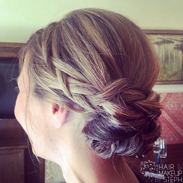 Best 25 Braided Chignon Ideas On Pinterest