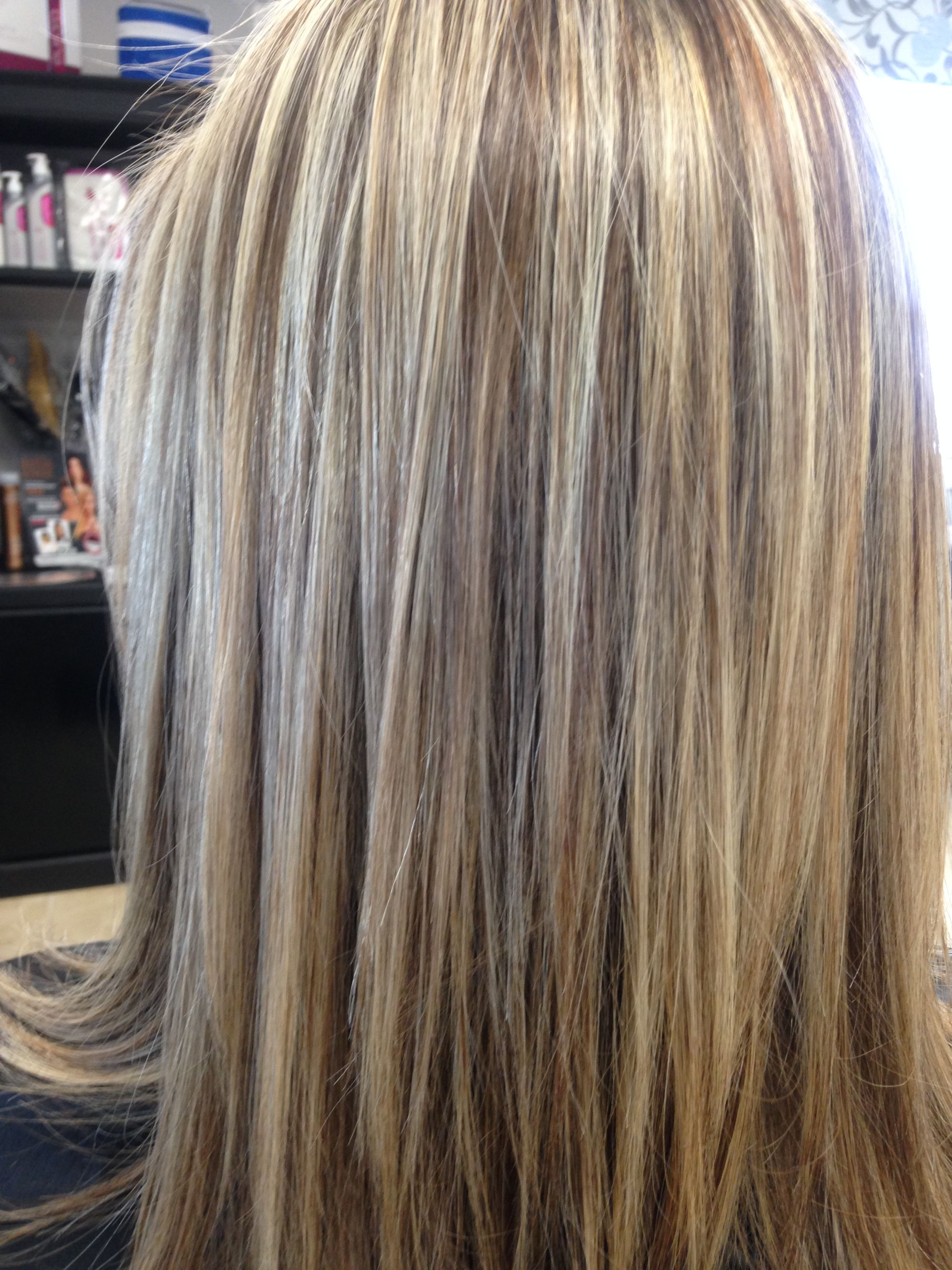 Highlights Blond Highlights And Lowlights Hair411 My Work In 2019