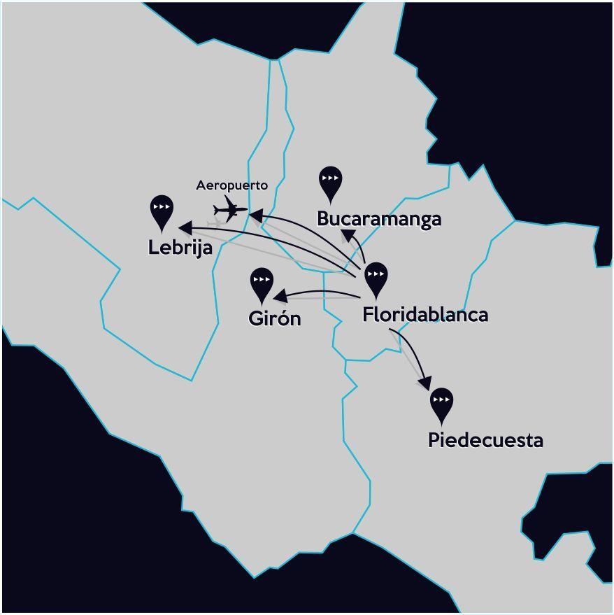 Africa Map Horn Of Africa%0A Rappido ofrece domicilios y servicios de mensajeria  desde la ciudad de  floridablanca  ca  averal