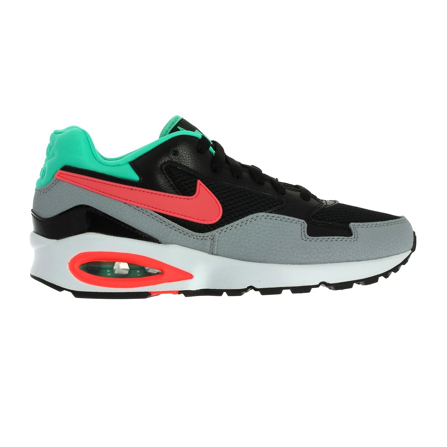 Women's Nike Air Max ST shoe blends the iconic Air Max design with a  combination upper for durability and classic style.